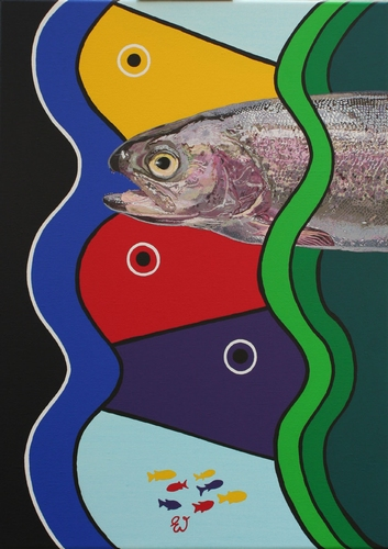 painting Trout